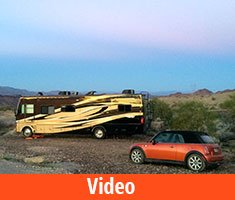 Boondocking Misadventures in Lake Havasu