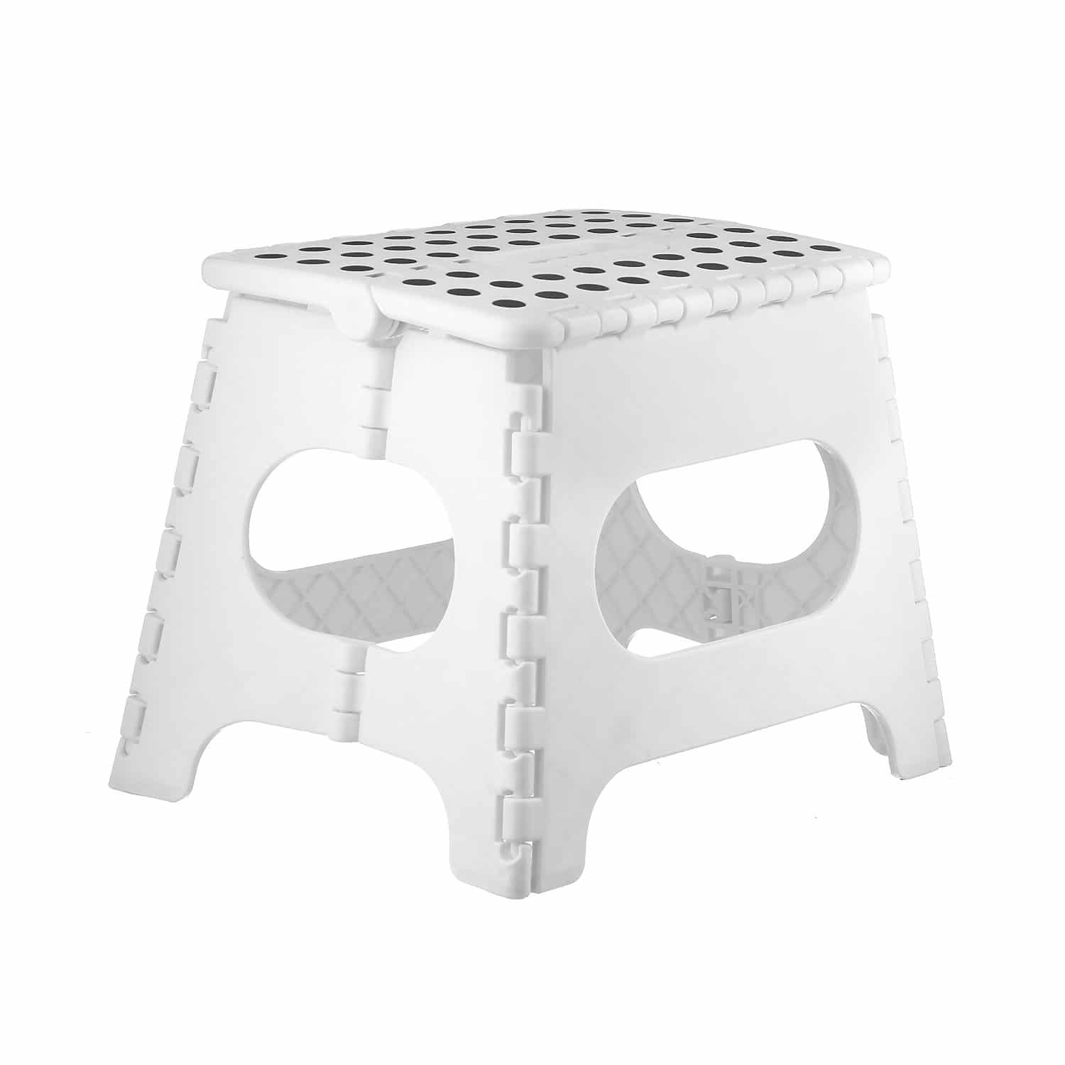 Folding Step Stool Indoors 11 Inches Holds Up To 300