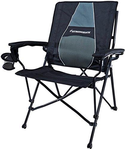 Genial STRONGBACK Elite Heavy Duty Folding Camp Chair ...