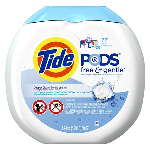 Tide Pods Free Amp Gentle He Turbo Laundry Detergent Pacs 77
