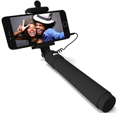extendable selfie stick monopod for iphone android rv love. Black Bedroom Furniture Sets. Home Design Ideas
