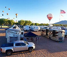 Top Tips for RVing at Albuquerque International Balloon Fiesta