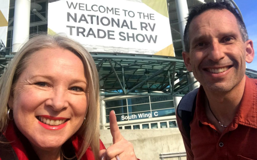 RVIA Trade Show Part 1/3: Latest Trends and Inside the RV of the Year!