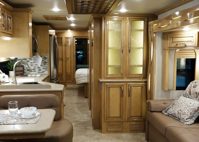 Motorhome Also Had A Great Back Porch Right Off The Master Bedroom Which Was Pretty Nifty Design That We Can See Being Extremely Popular Across