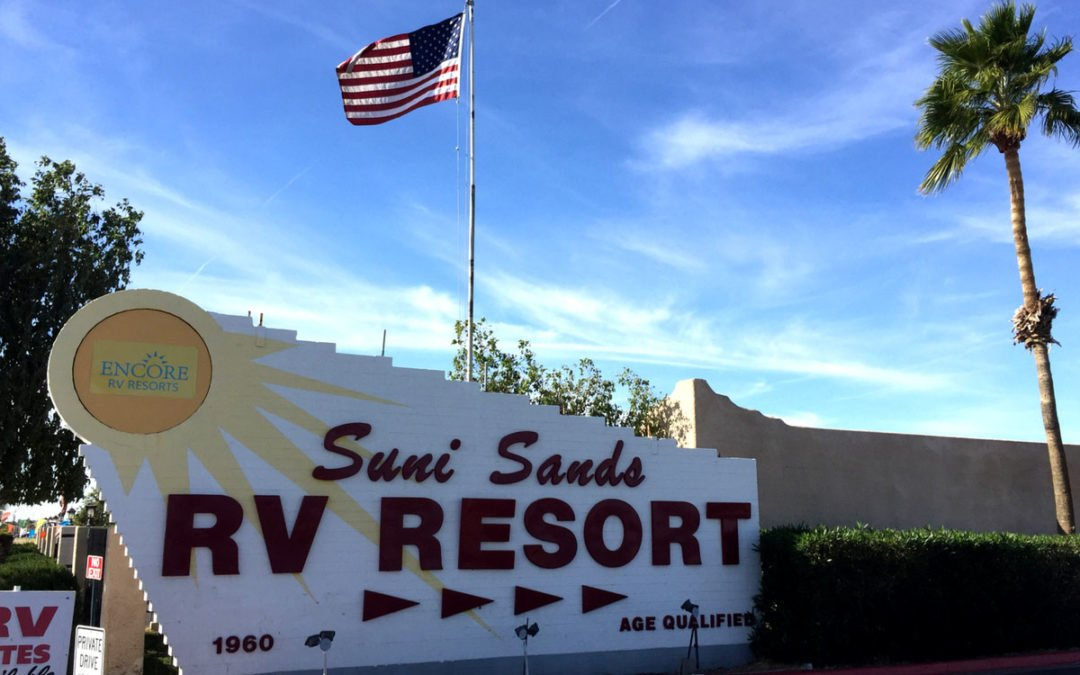 Review: Suni Sands RV Resort Yuma, AZ (Encore/TC)