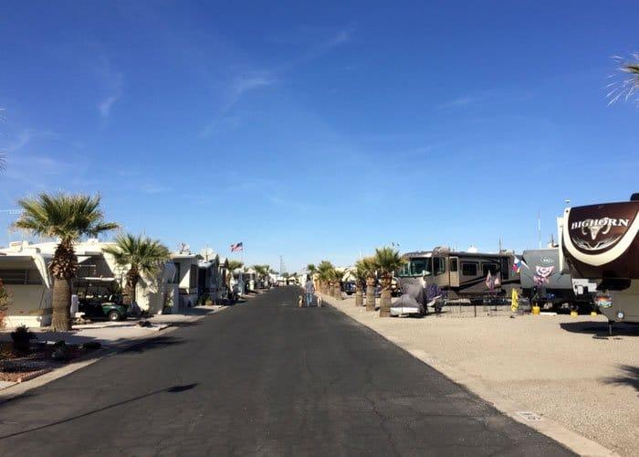 Suni Sands Rv Resort In Yuma Arizona Encore Trails Collection