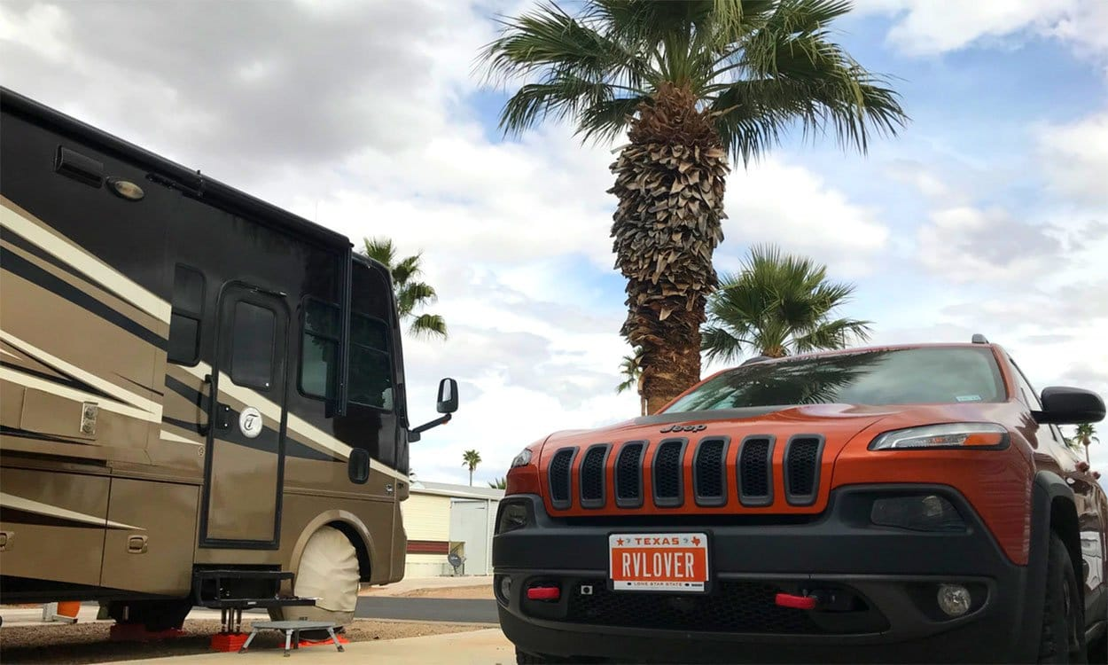 We Named Our Jeep And Got New Personalized Plates For Our Rv Toad