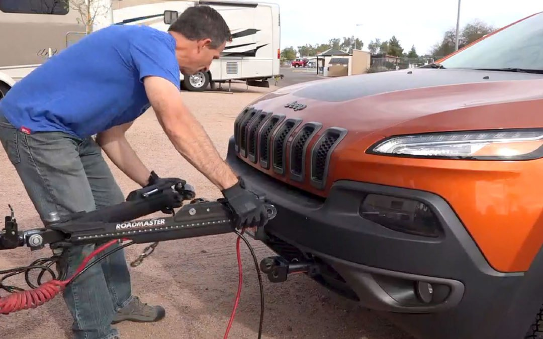 Our 4-Down Vehicle Towing Setup: Part 1 – Tow Bar