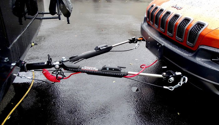 Our 4-down Vehicle Towing Setup  Part 1  U2013 Tow Bar