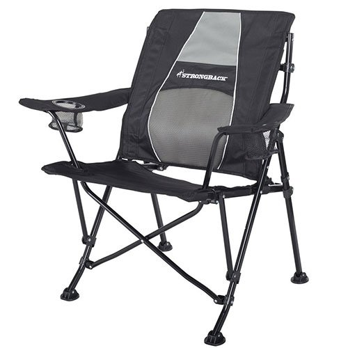 Magnificent Strongback Guru Folding Chair With Lumbar Support Rv Love Beatyapartments Chair Design Images Beatyapartmentscom