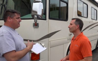 "Getting a Professional RV Inspection Before Buying + Our ""Fix-it List"""