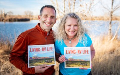"""And We Are Officially Published! Our Book """"Living the RV Life – Your Ultimate Guide to Life on the Road"""" is Available at Book Sellers around the Country"""