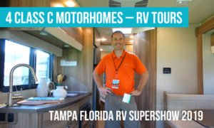 Tour 8 Class A Motorhomes by Tiffin, Newmar, Winnebago + Mobility