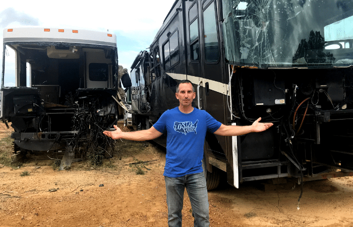 Where RVs Go To Die: Fires, Crashes, Blowouts  What We Learned at an