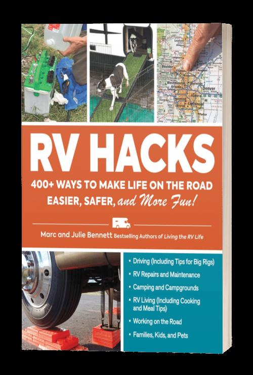 RV HACKS - Book Cover